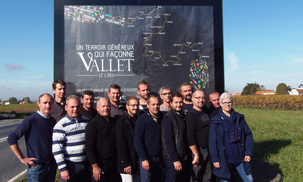 Lancement officiel du Cru Vallet